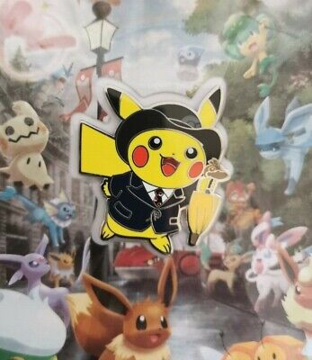 Pokemon Centre London New in Box TCG Acc London City Pikachu Scene Playmat