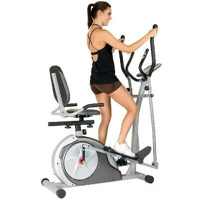 Cardio 3 In 1 Elliptical Cross Trainer Bike Exercise Fitness Machine Home Gym