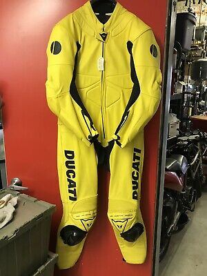 Ducati Dainese Full Leather Race Suit Mens 56