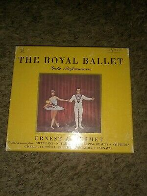 The Royal Ballet Gala Performances Classic Records 24k GOLD CD RARE