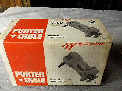 NOS, USA - made Porter Cable spiral saw, drywall cutter, rotozip
