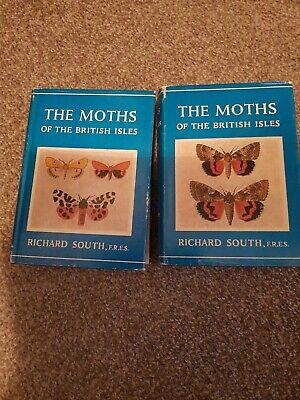 The Moths of The British Isles by Richard South, Series one & two
