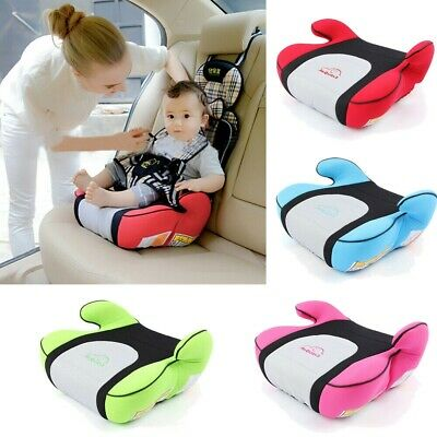 Backless Baby Booster Car Seat Travel Safety Harness Breathable Durable For Kids