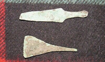 Old Original Bronze knife & tip Ancient Scythian-Sarmatia 7-4 BC