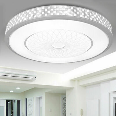 Round Panel LED Bathroom Ceiling Light Down Living Room Kitchen Lights Wall Lamp