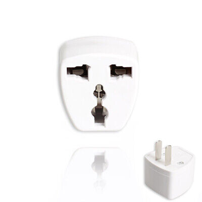 UK EU AU Australia Universal to US Power Plug Travel Adaptor Converter Portable