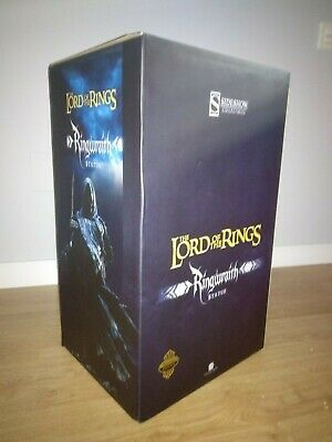 Sideshow Maquette Ringwraith exclusive polystone lord rings señor anillos hobbit