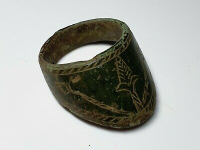 MEDIEVAL ARCHER MILITARY RING 10th-12th century AD