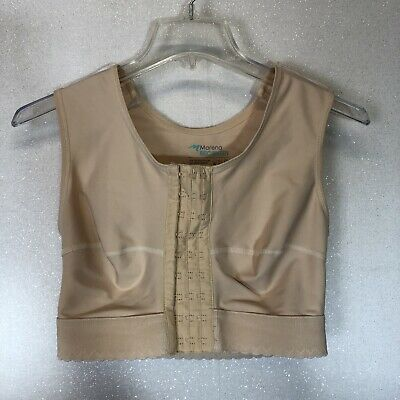 Marena Recovery Sleeveless Vest Compression Bra FVNS Post Surgery Size Large
