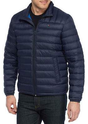 TOMMY HILFIGER MEN'S Big & Tall Packable Natural Down Jacket