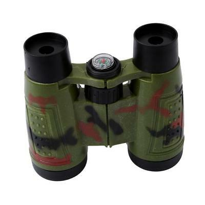 Kids Toy Telescope Night Vision Surveillance Compass Binoculars With Neck VYD