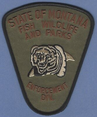 FORT BELKNAP MONTANA TRIBAL FISH /& WILDLIFE ENFORCEMENT SHOULDER PATCH