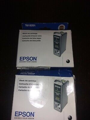 Epson Stylus photo 2000P black ink cartridge - vacuum sealed in box