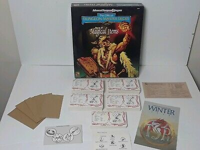 Advanced Dungeons & Dragons 2nd Ed. Dungeon Master Deck of Magical Items 1993