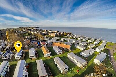 Holiday caravan for sale on site in Leysdown Kent Priory Hill park for £6500