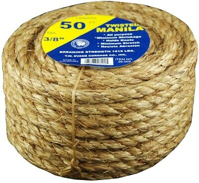 T.W Evans Cordage 294-050-70 5//32-Inch by 1000-Feet Solid Braid Polyester Rope T.W Evans Cordage Co.