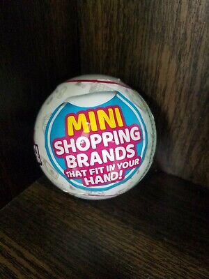 Mini Brands 5 Surprise Mystery Blind Capsule Ball by Zuru NEW, FREE SHIPPING