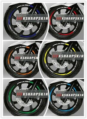 Motorcycle Wheel Tappet Tire Stickers Decals Tags For Huanglong 300GS series
