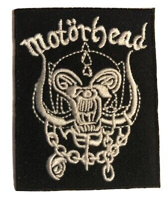 "MOTORHEAD - EMBROIDERED 2.25"" x 3"" Iron on PATCH"