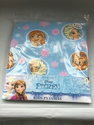 Disney Frozen Girls snuggle fit pyjamas age 7-8 NEW