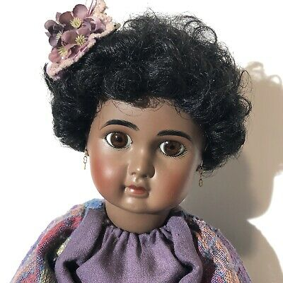 Antique Reproduction French Steiner A 15 Jamie Englert Doll African American A15
