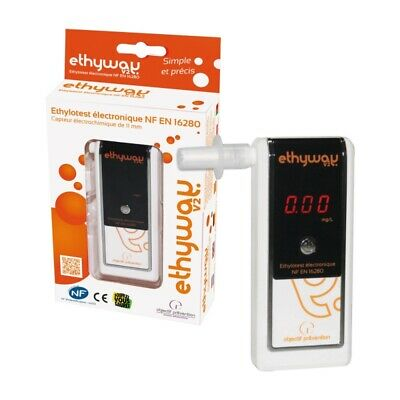 Ethyway V2 Breathalyser Display Mode 1 Up To 0.25 Mg.l
