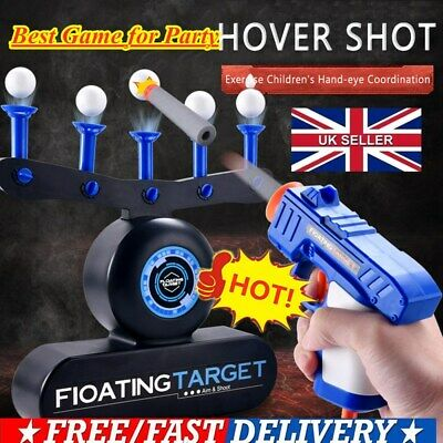 Electric Air Shot Hovering Ball Target Shooting Game Party Darts Game UK Stock