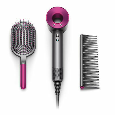 Dyson Official Outlet - Supersonic Hair Dryer with Brush and Comb, Refurbished