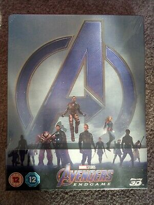 Avengers: Endgame -  Exclusive 3D Blu-ray Steelbook Edition -  Brand new sealed