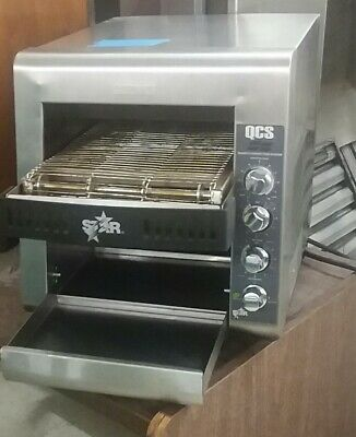 """Star"" QCS Countertop Conveyor Toaster"