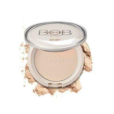 Foundation Powder Face Matte Makeup Pressed Translucent With Puff Natural M V6T0
