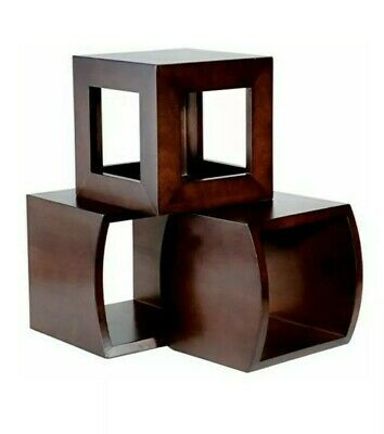 Oneida Euro Wood Cube Display Set centerpiece,  catering
