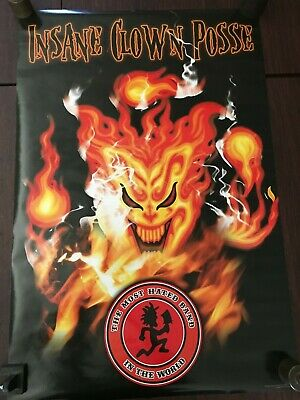 24X36 2008 Poster Isp Insane Clown Posse Most Hated Band In The World Hip Hop C3