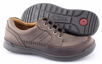 MEN'S ECCO 'HOWELL' Dark Brown Leather Oxfords Size US 8 EUR