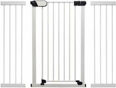 Ext. to 124cm Callowesse® Kemble Pressure Fit Safety Baby /& Pet Gate 75-82cm