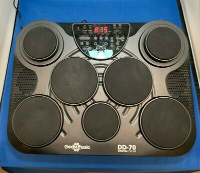 Portable Electric Drum Pad DD70 [Gear4Music]