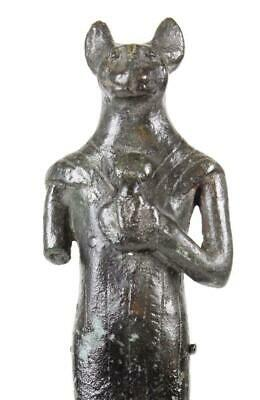 An Egyptian Bronze Figure of Bastet, 21st Dynasty ca. 1069-945 BCE