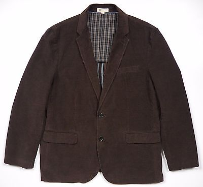 J.crew Nwot Mens Xl Corduroy Blazer Jacket Coat Stylish Brown Cotton Winter Luxe