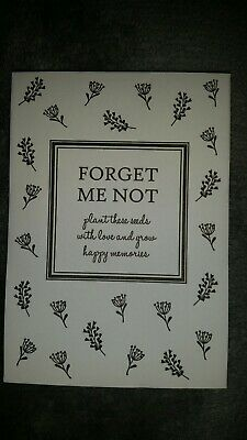 Forget Me Not Seeds 200+ pcs In Funeral package
