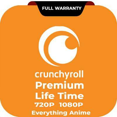 Crunchyroll Premium Account 2 Years Subscription & Warranty Full Access