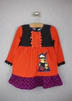 NEW Jelly the Pug Halloween Witch & Pug Dress 6 Girls *LAST ONE*