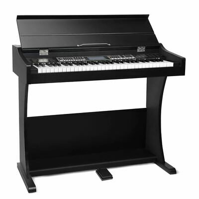 Alpha 61 Key Electronic Piano Keyboard Electric Digital Classical Music Stand