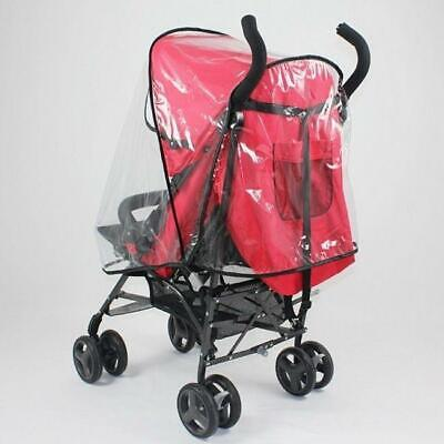Baby Stroller Shield Weather Rain Cover Wind Canopy Waterproof Supplies BL3