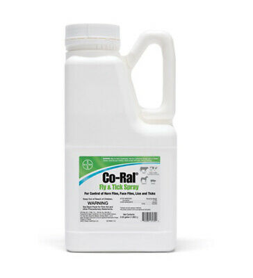 Co Ral Fly & Tick Spray 1/2 Gallon Cattle