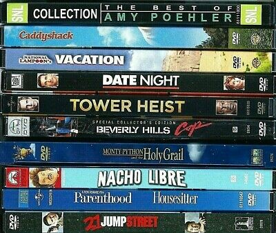 Comedy DVDs! You Pick! Date Night SNL Amy Poehler Parenthood House Sitter