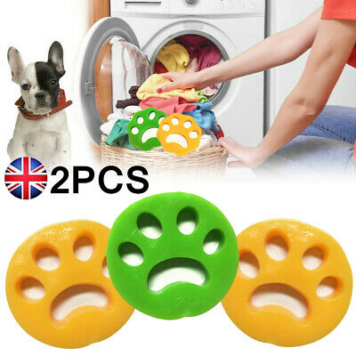 Pet Hair Remover Washing Machine Reusable Laundry Fur Catcher Cleaning Tools UK