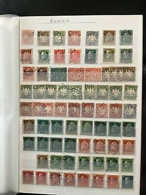 Bavaria early stamps collection