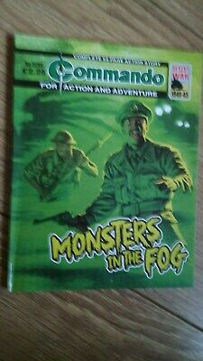 Commando War Comic No 5265 MONSTERS IN THE FOG Sep 2019 FREEPOST