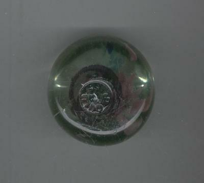 Gorgeous Vintage Hand Blown  MURANO STYLE  Latticino Pink/Green/Blue Paperweight