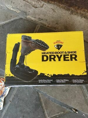 Herman Survivors Heated Boot & Shoe Dryer (New In Scuffed Torn Box)